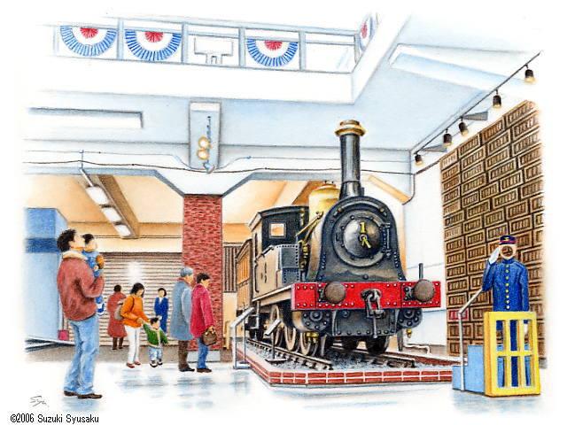 MuseumIllust Rail